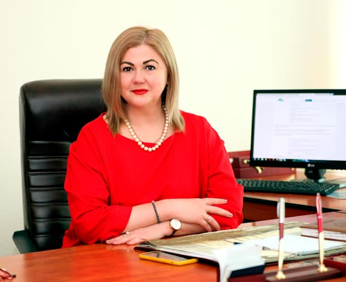 City Mayor Olena ZHADKO